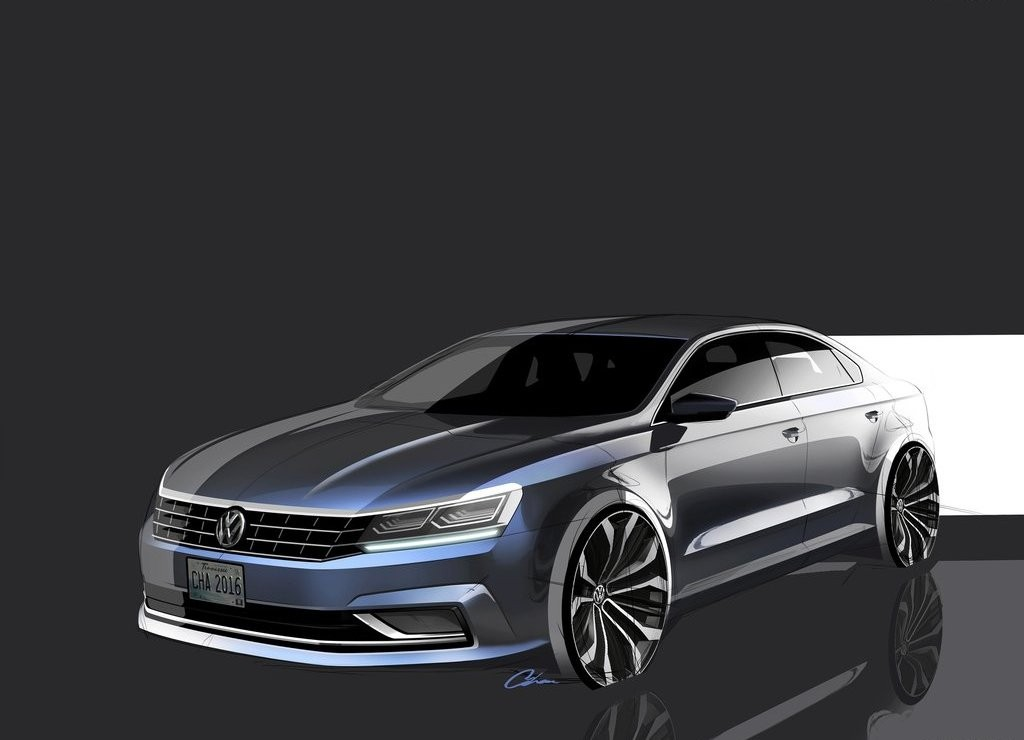 2017 Volkswagen Passat US Version photo - 4