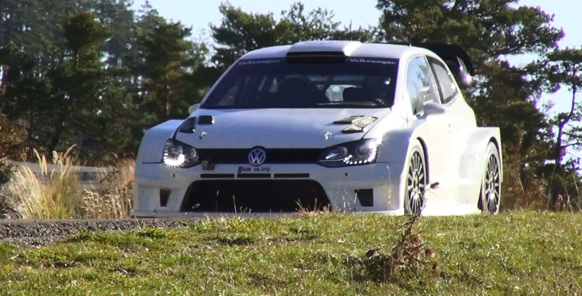 2017 Volkswagen Polo R WRC Racecar photo - 2