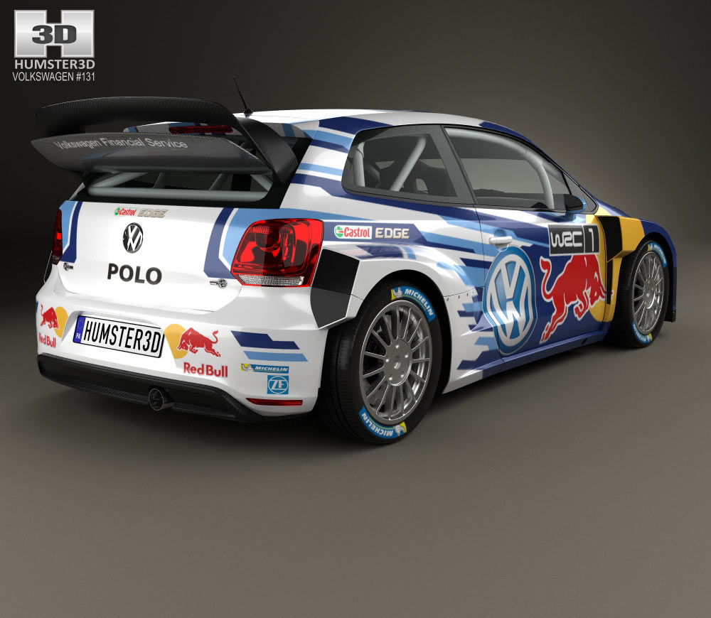 2017 Volkswagen Polo R WRC Racecar photo - 3