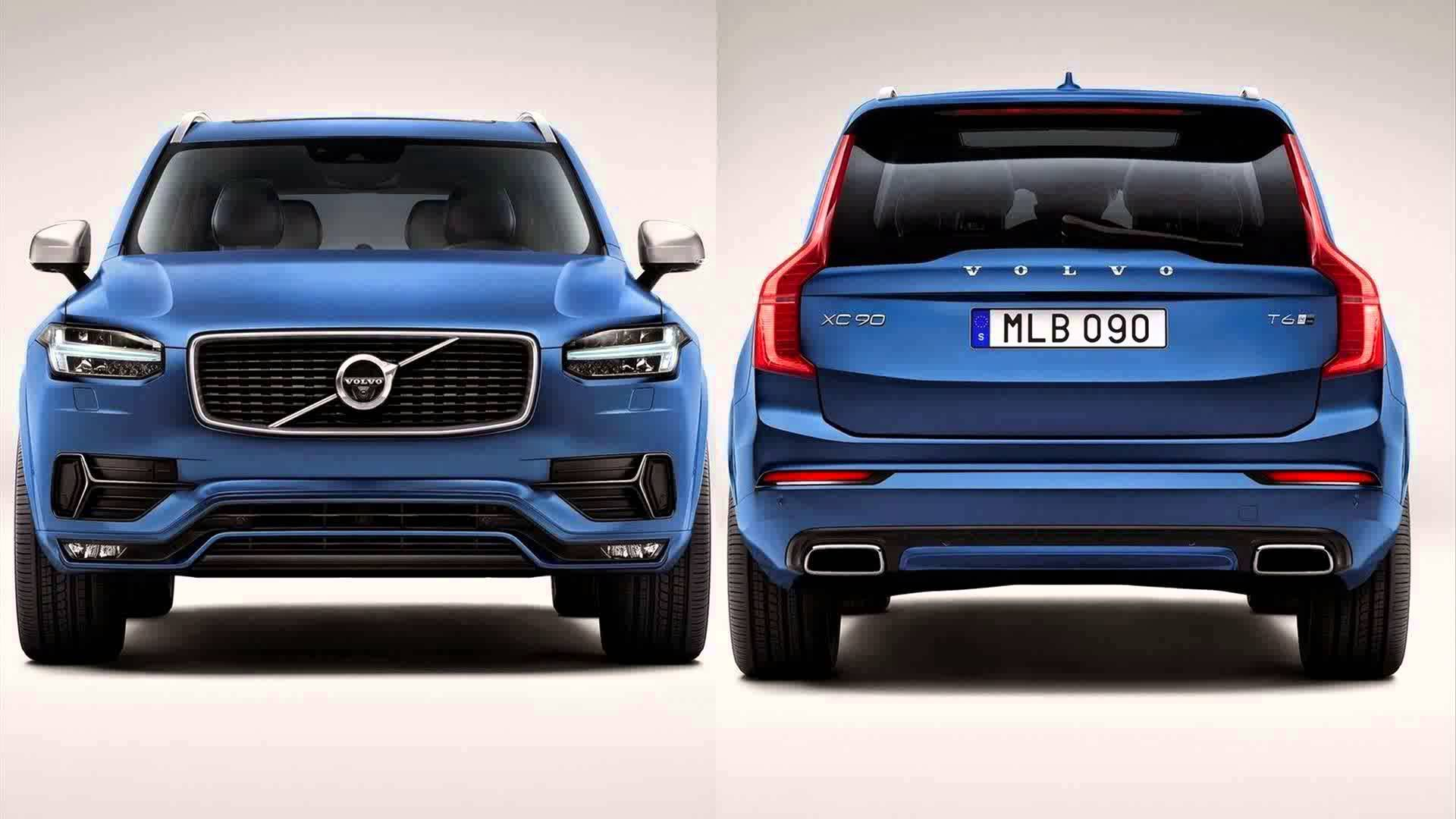 2017 Volvo XC90 R Design photo - 3