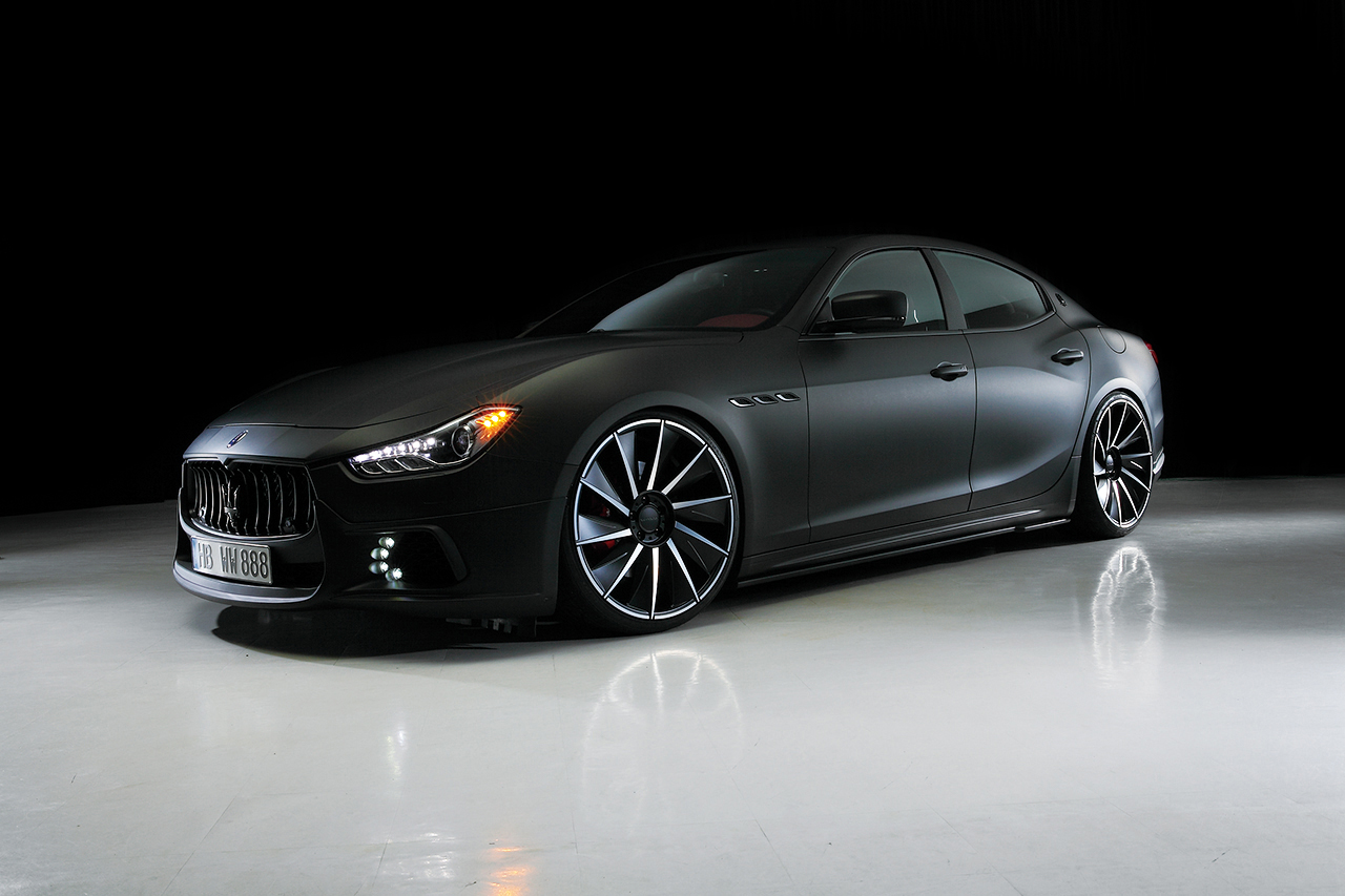 2017 Wald Maserati Quattroporte Black Bison photo - 1