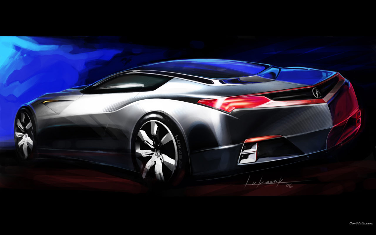 2018 Acura Advanced Sports Car Concept photo - 3