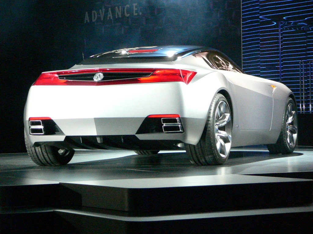 2018 Acura Advanced Sports Car Concept photo - 5