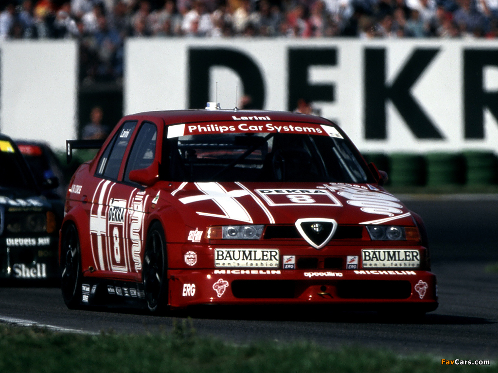 2018 Alfa Romeo 155 2.5 V6 TI DTM photo - 1