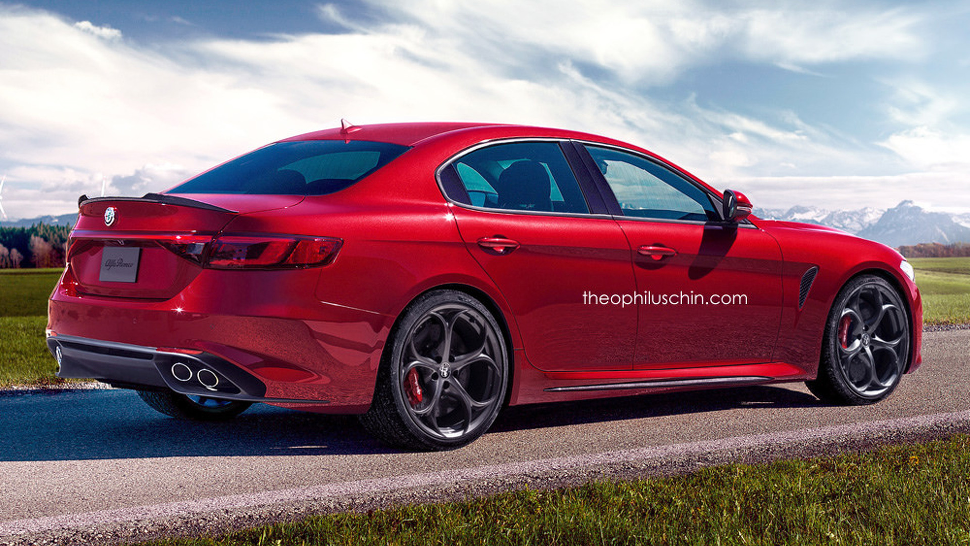 2018 Alfa Romeo Alfa 6 photo - 1