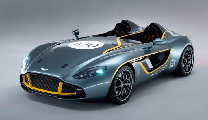2018 Aston Martin CC100 Speedster Concept photo - 5