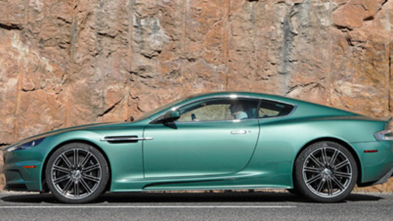 2018 Aston Martin DBS Racing Green photo - 2