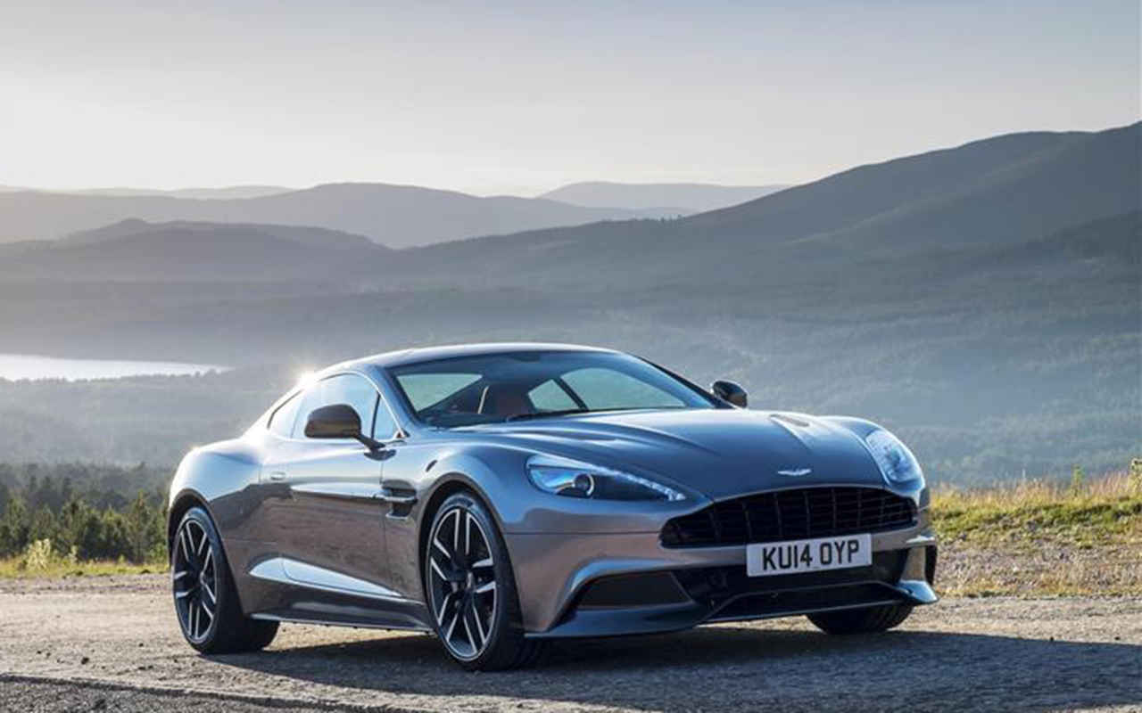 2018 Aston Martin Project Vantage Concept Car photo - 3