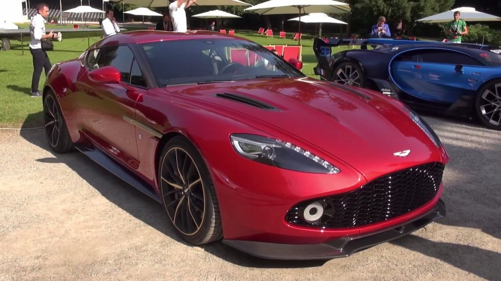 2018 Aston Martin V12 Zagato Concept photo - 4