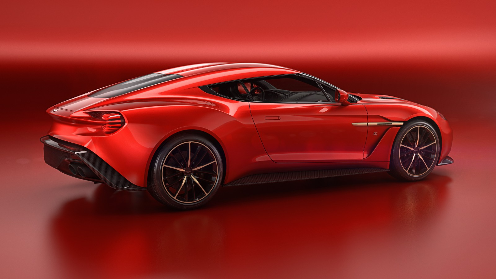 2018 Aston Martin V12 Zagato Concept photo - 5