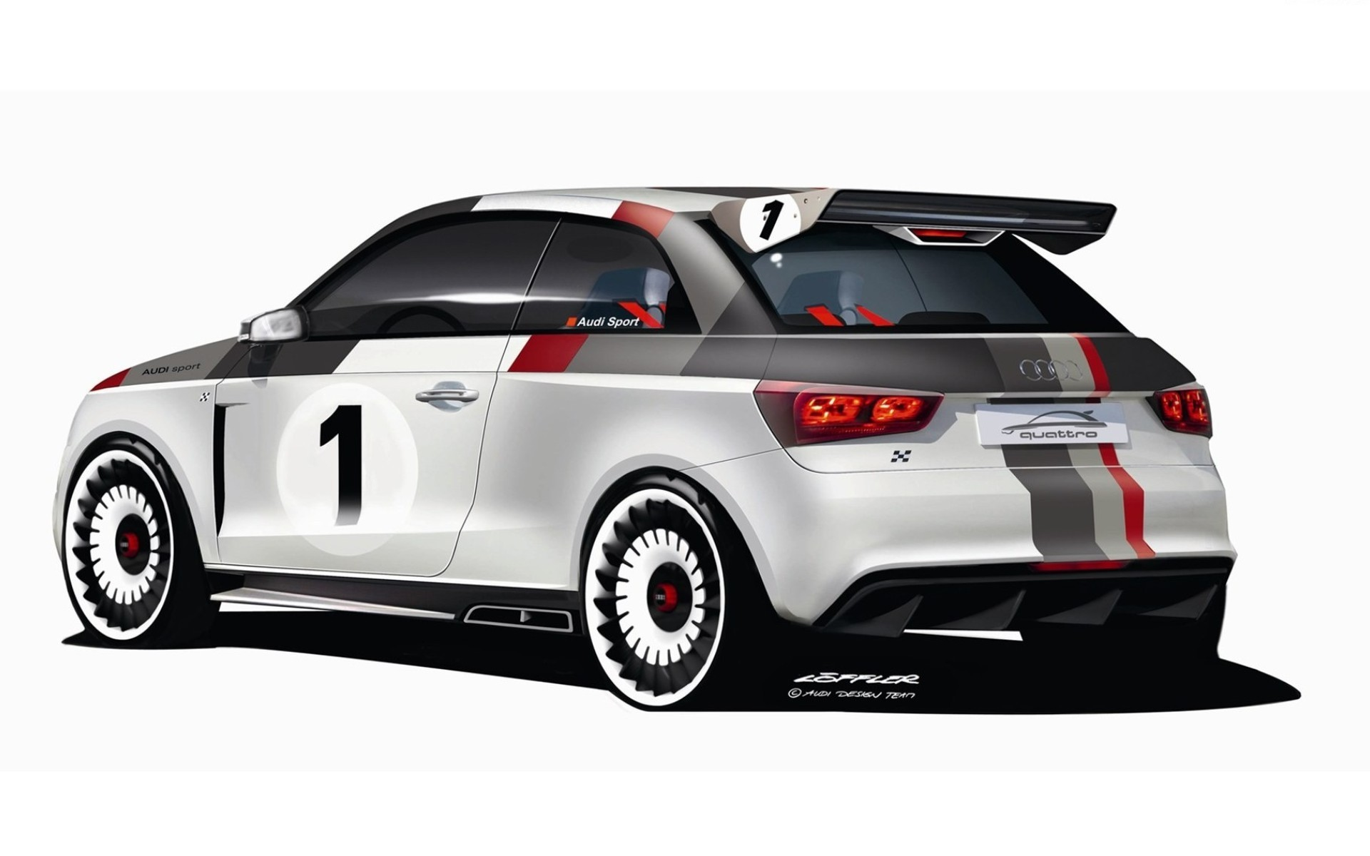 2018 Audi A1 clubsport quattro Concept photo - 1