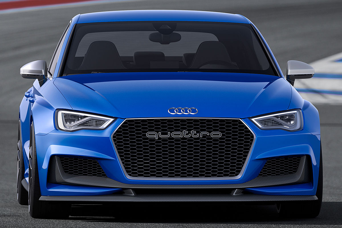 2018 Audi A3 Clubsport quattro Concept photo - 2