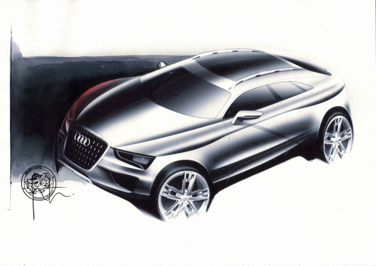 2018 Audi Cross Coupe quattro Concept photo - 5