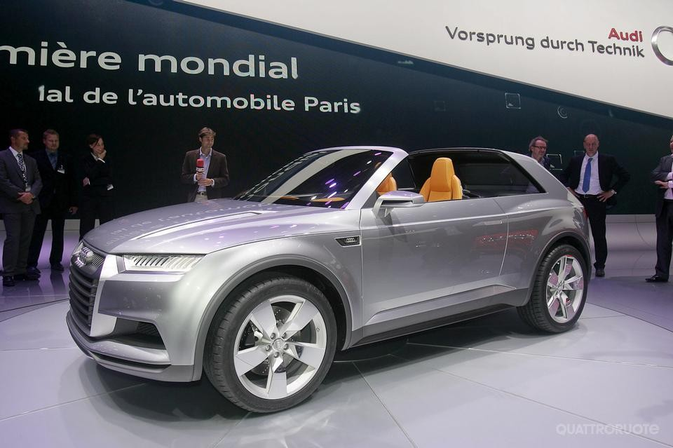 2018 Audi Crosslane Coupe Concept photo - 2