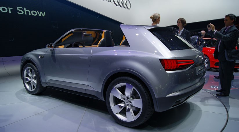 2018 Audi Crosslane Coupe Concept photo - 3