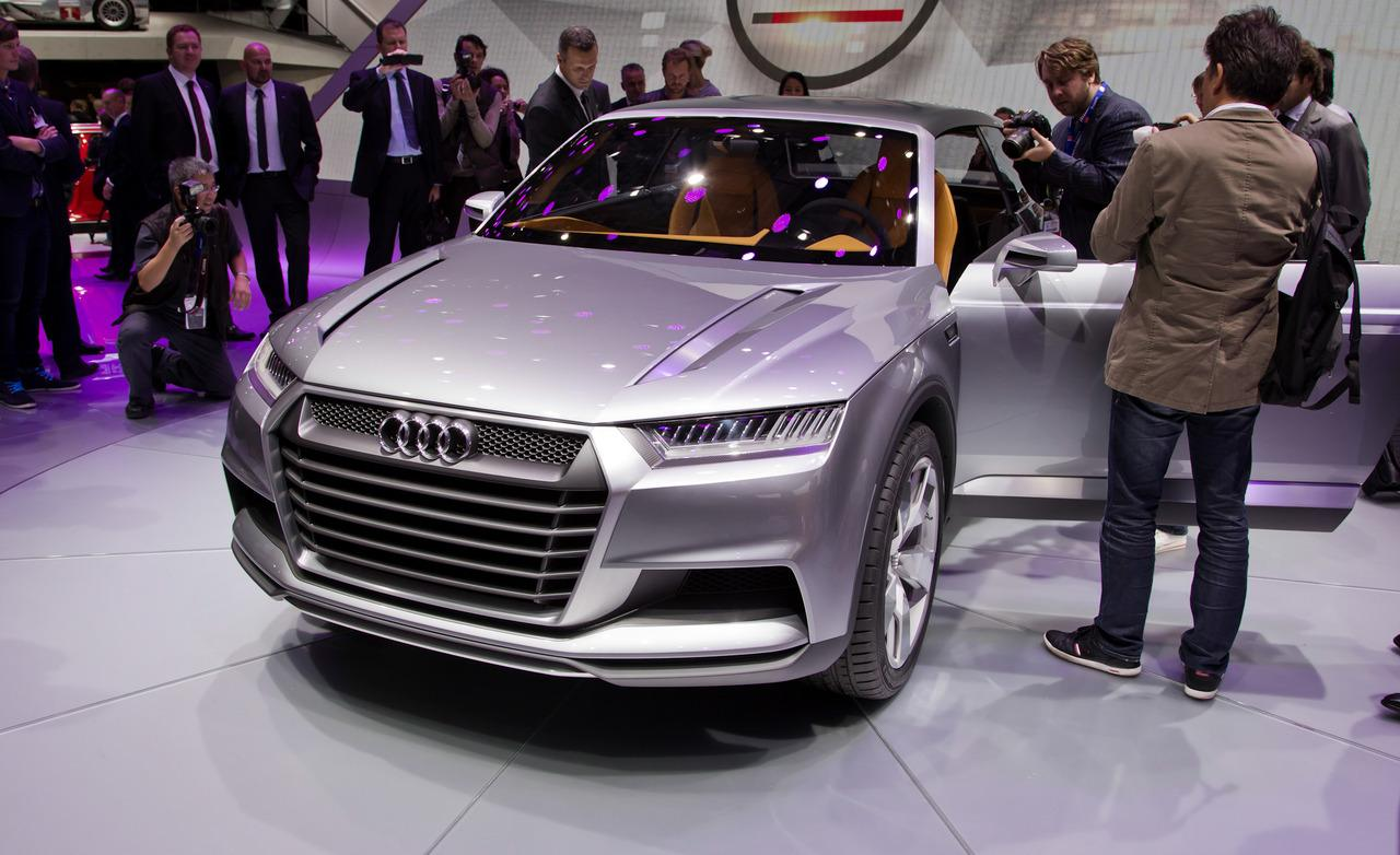 2018 Audi Crosslane Coupe Concept photo - 4