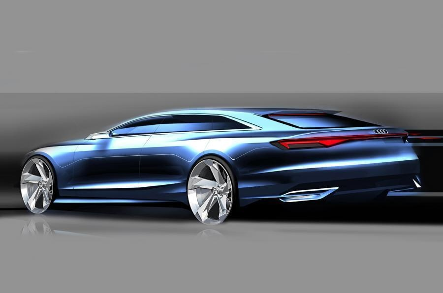 2018 Audi Prologue Avant Concept photo - 2