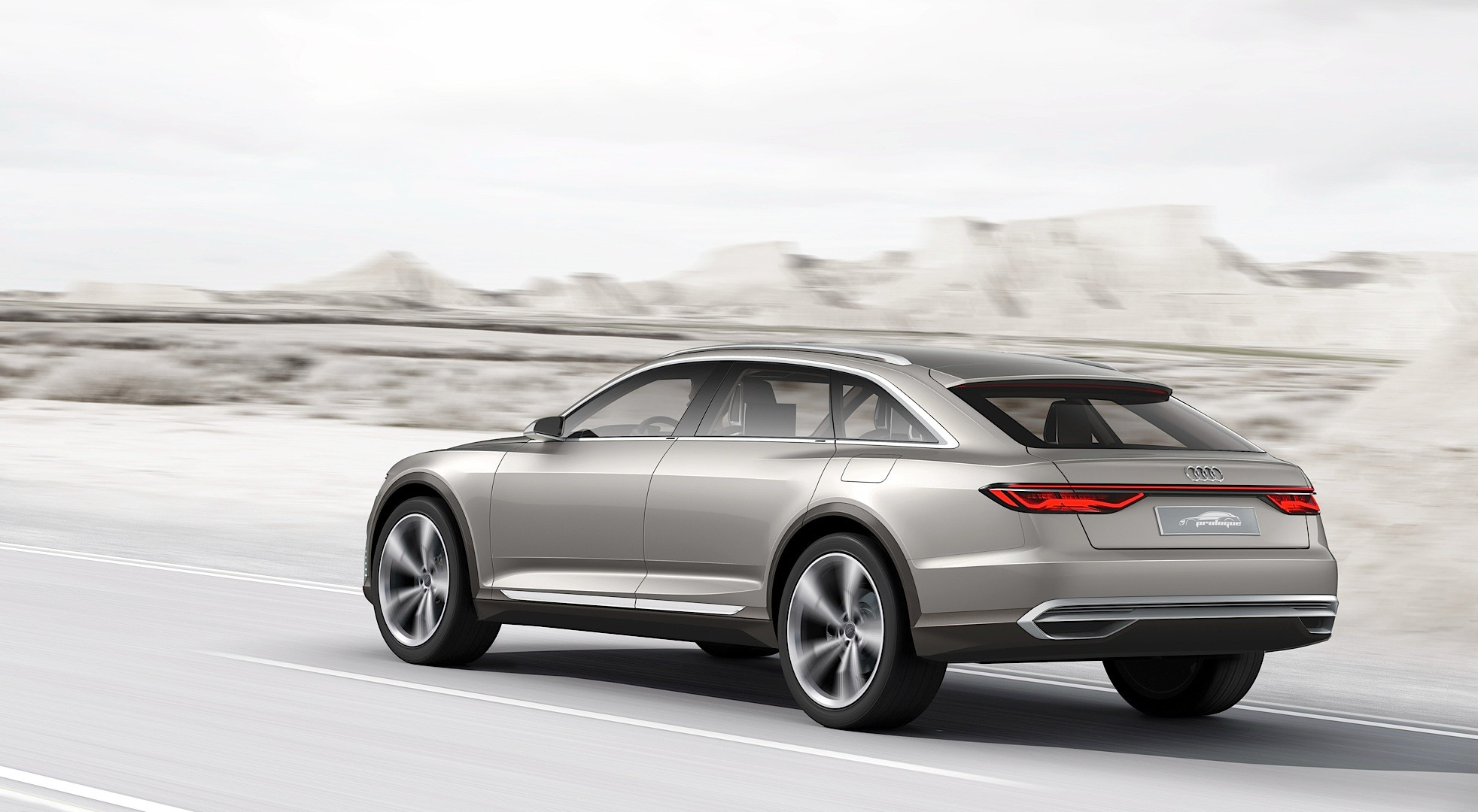 2018 Audi Prologue Concept photo - 2