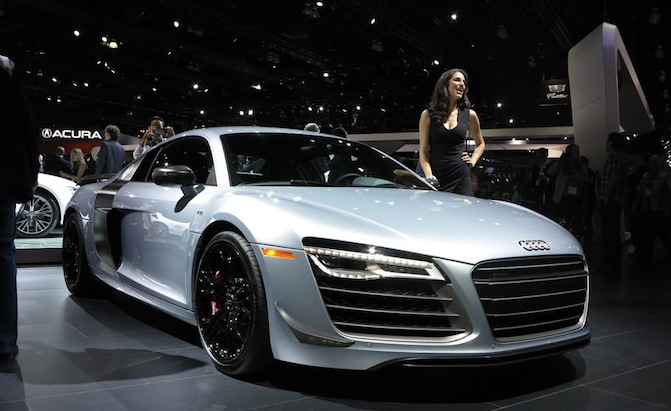 2018 Audi R8 competition photo - 2