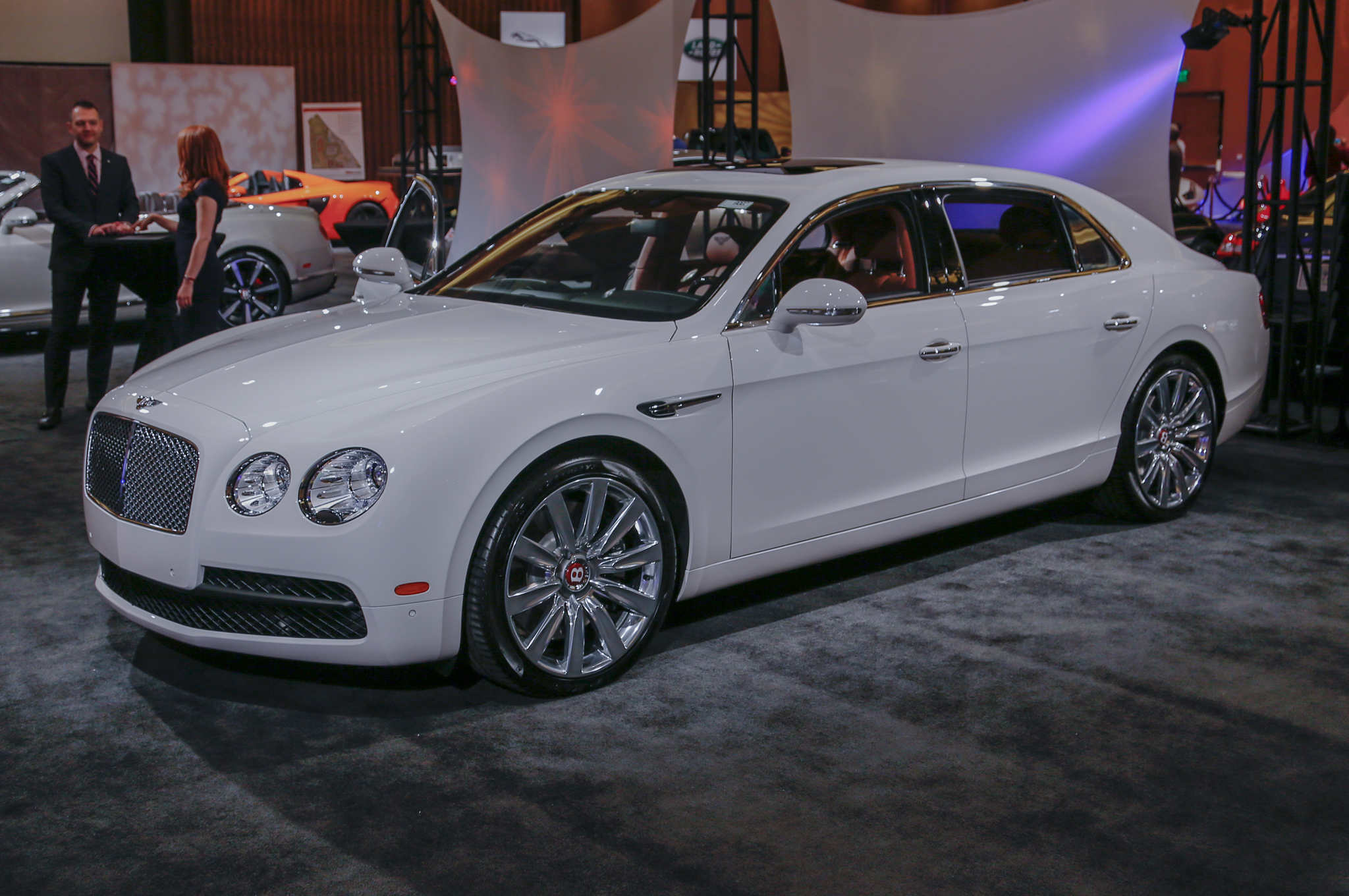 2018 Bentley Continental Flying Spur photo - 3