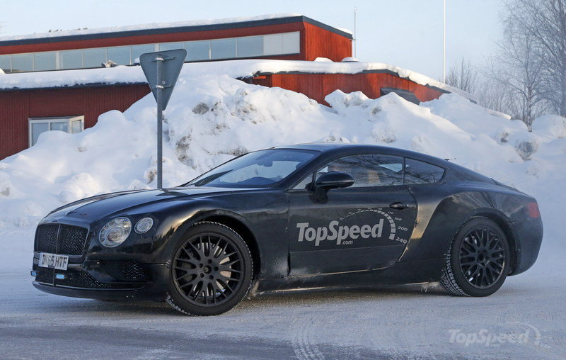 2018 Bentley Continental GT photo - 2