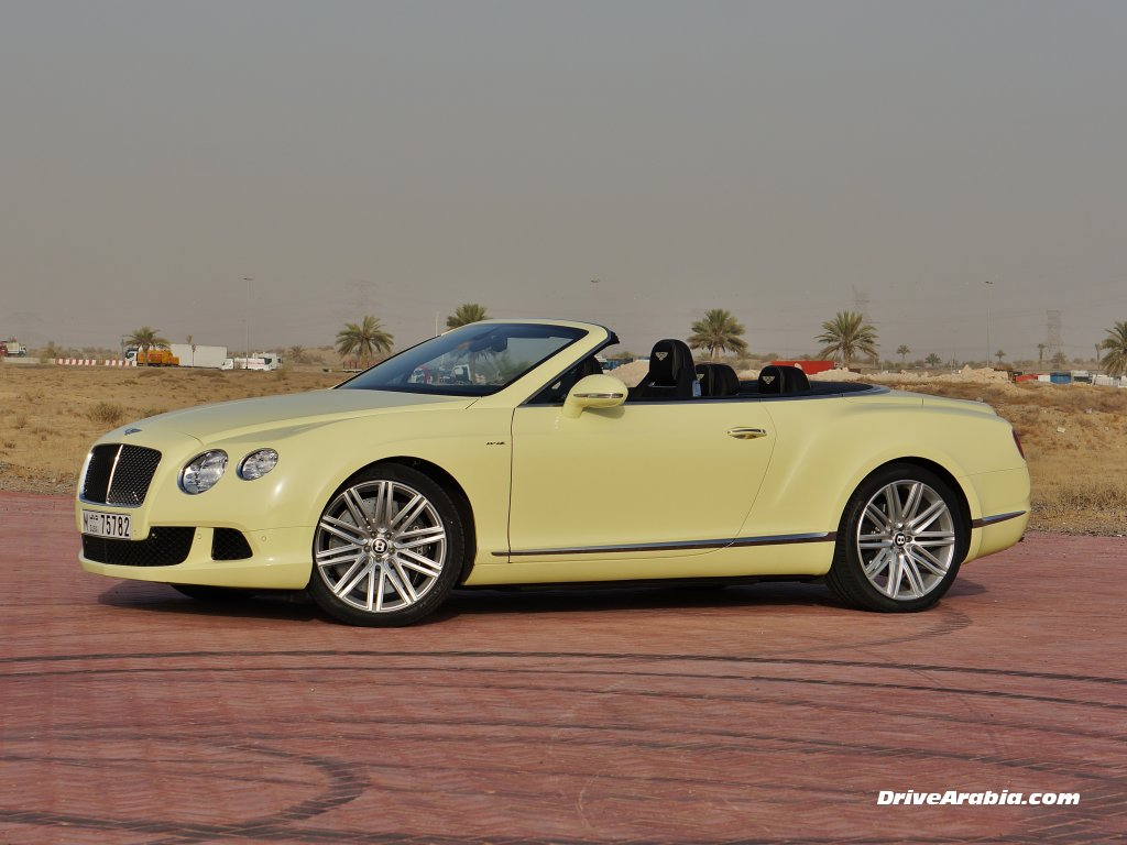 2018 Bentley Continental GT Speed Convertible photo - 1