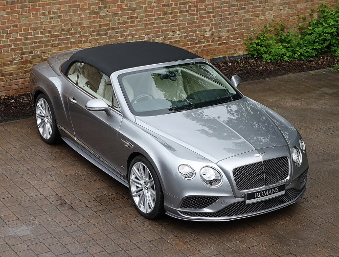 2018 Bentley Continental GT Speed Convertible photo - 2