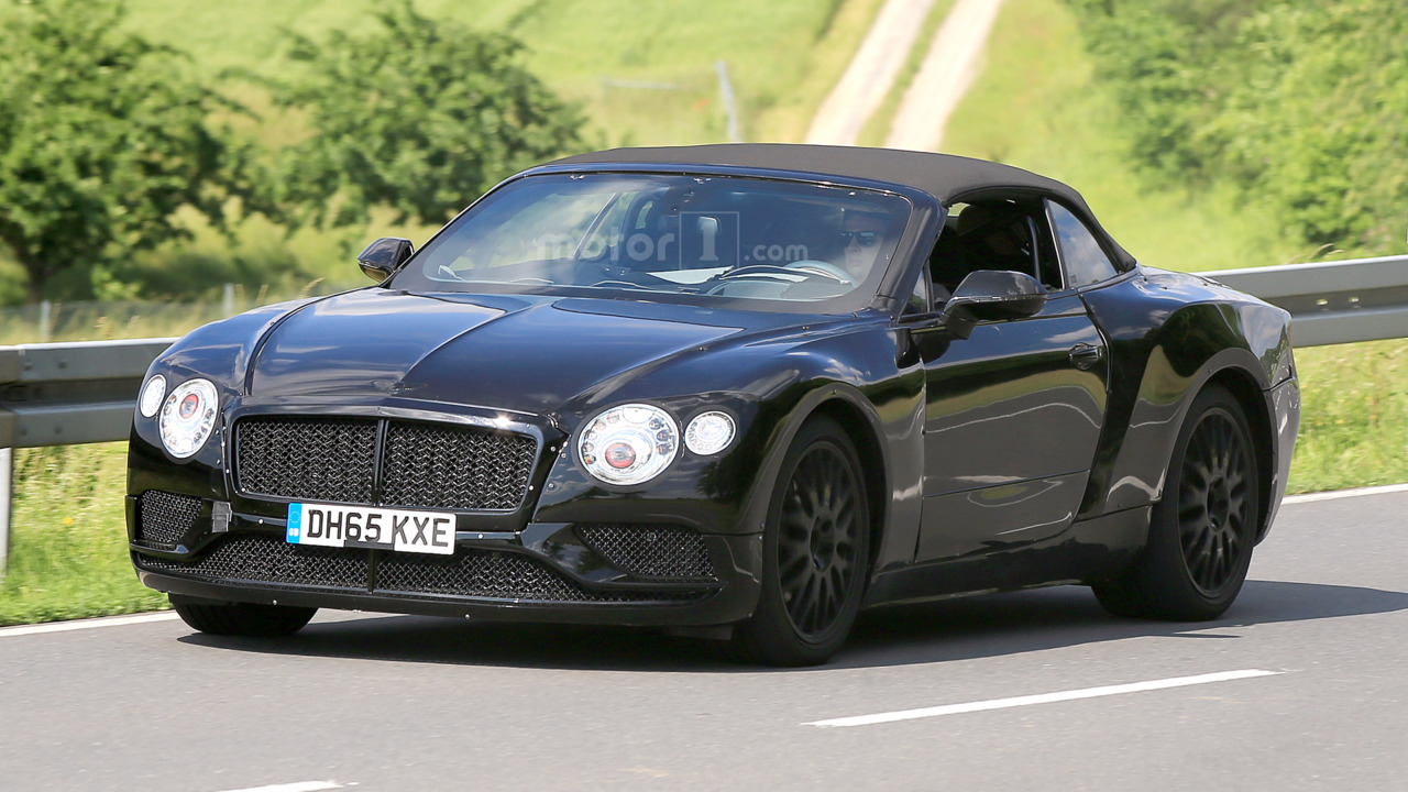 2018 Bentley Continental GT Speed Convertible photo - 3