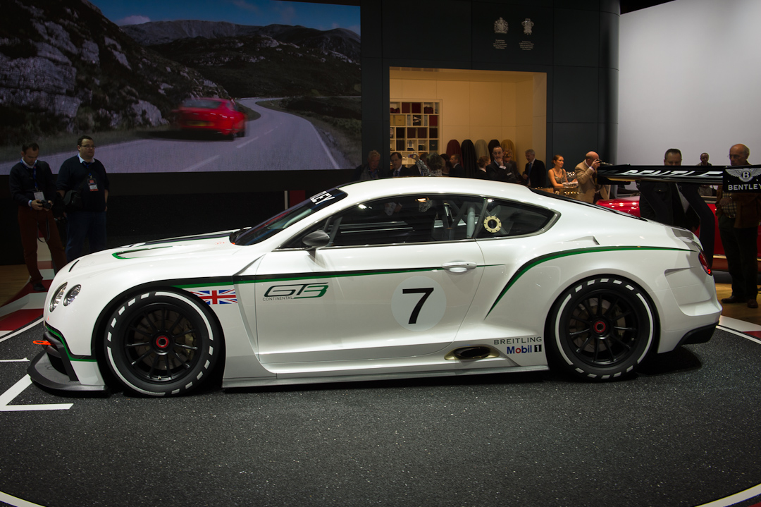 2018 Bentley Continental GT3 Concept photo - 2