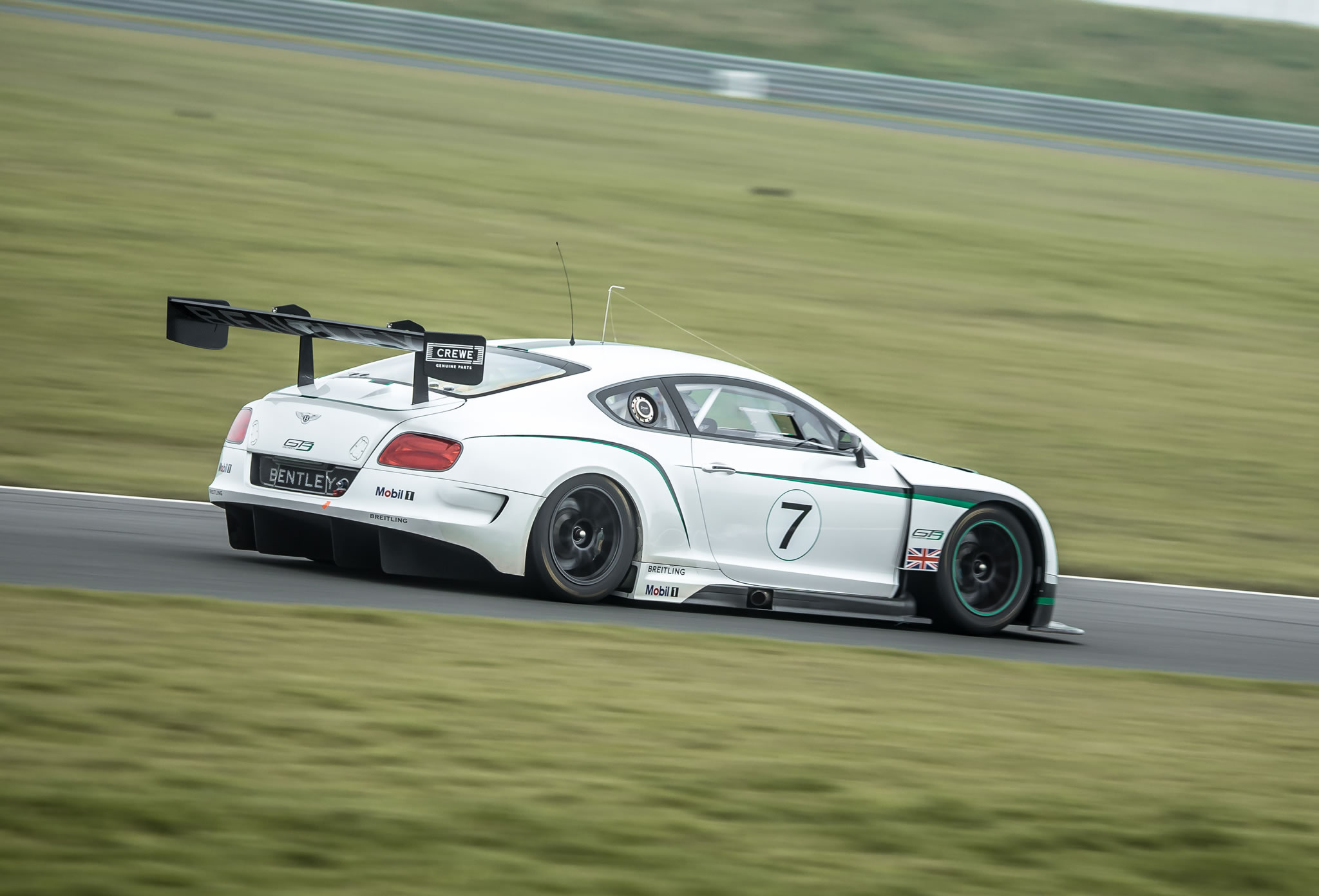 2018 Bentley Continental GT3 Racecar photo - 4