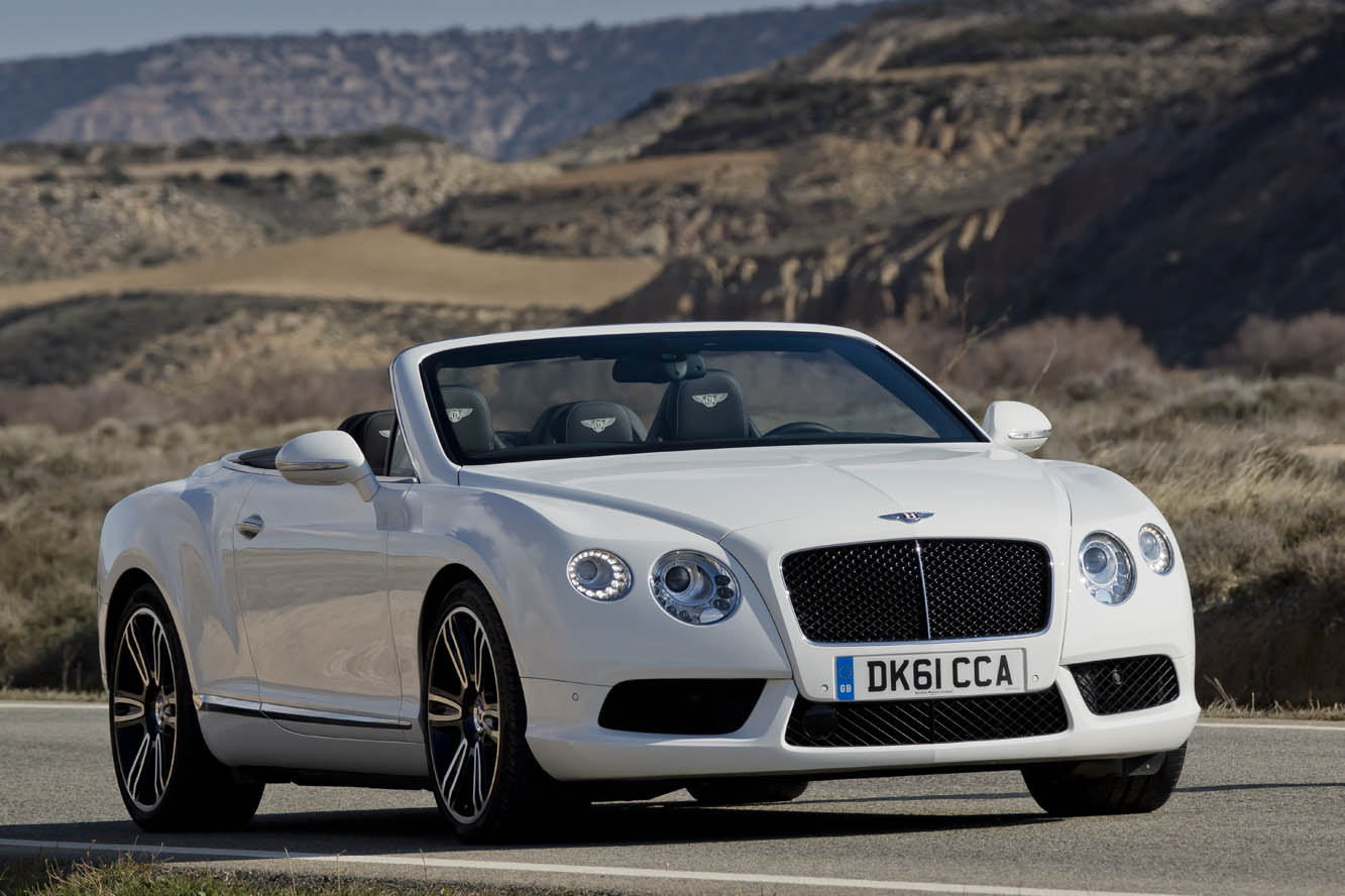 2018 Bentley Continental GTC V8 photo - 1