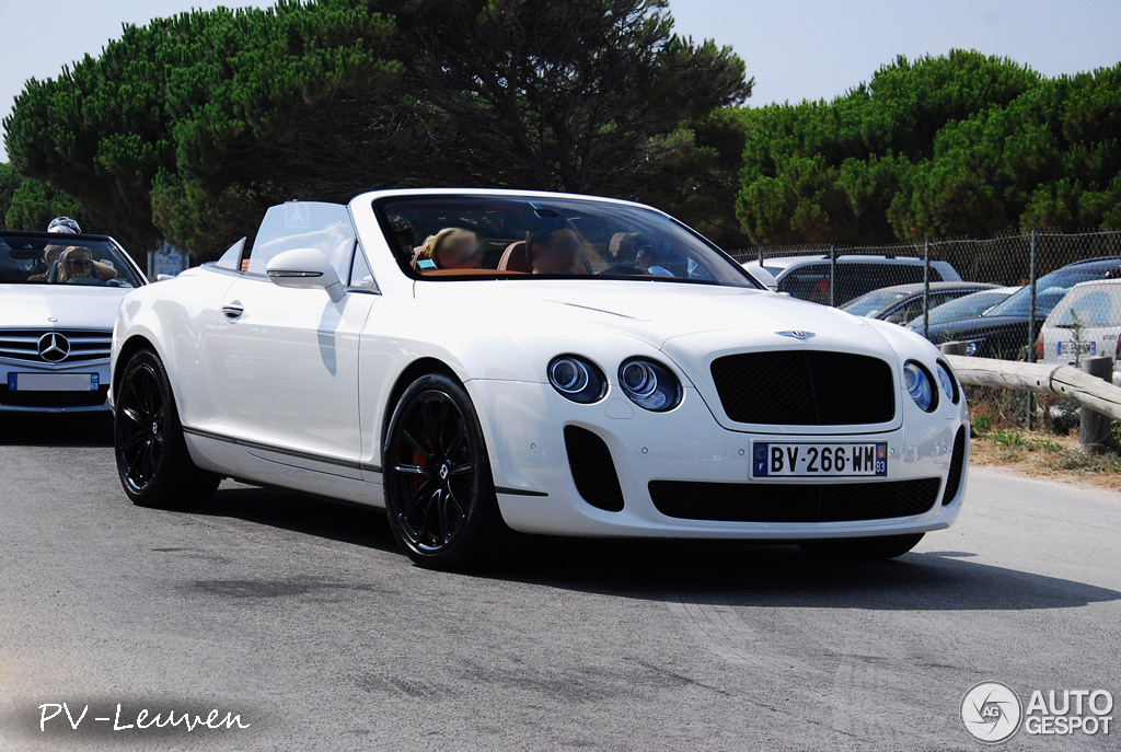 2018 Bentley Continental Supersports Convertible photo - 3