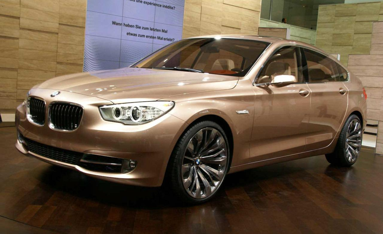 2018 BMW 5 Series Gran Turismo Concept photo - 3