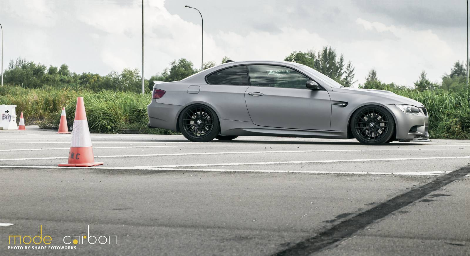 2018 BMW M3 Frozen Gray photo - 1