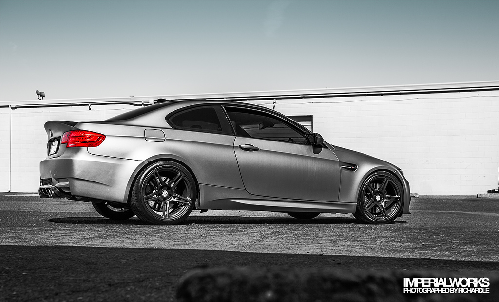 2018 BMW M3 Frozen Gray photo - 2