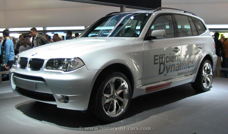 2018 BMW X3 EfficientDynamics Concept photo - 1