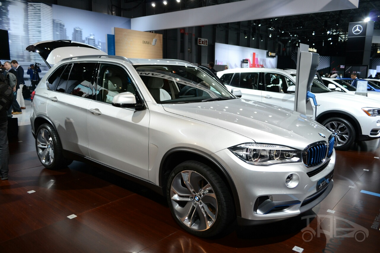 2018 BMW X5 eDrive Concept photo - 3