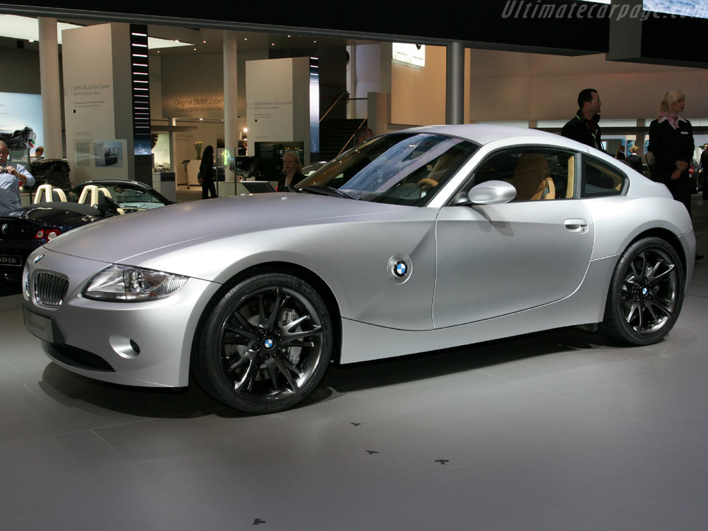 2018 BMW Z4 Coupe Concept photo - 3