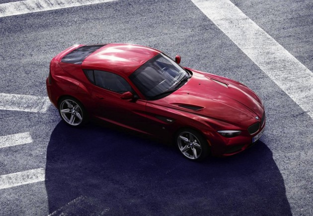2018 BMW Z4 Coupe Concept photo - 5