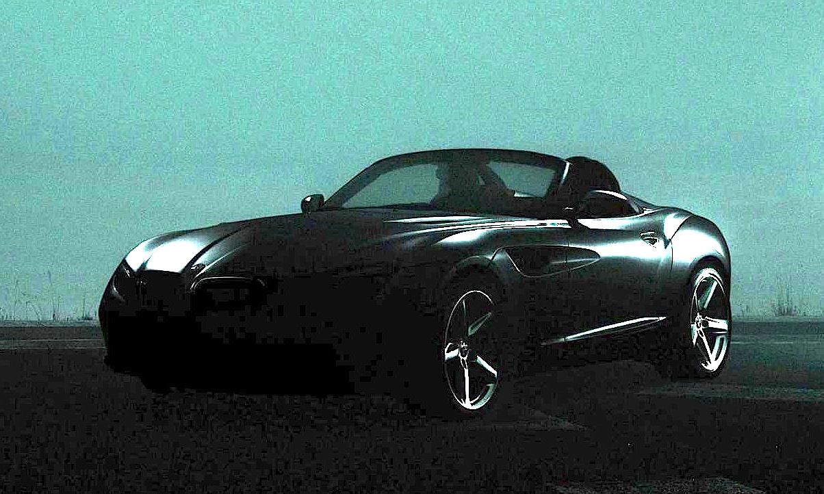 2018 BMW Zagato Roadster Concept photo - 2