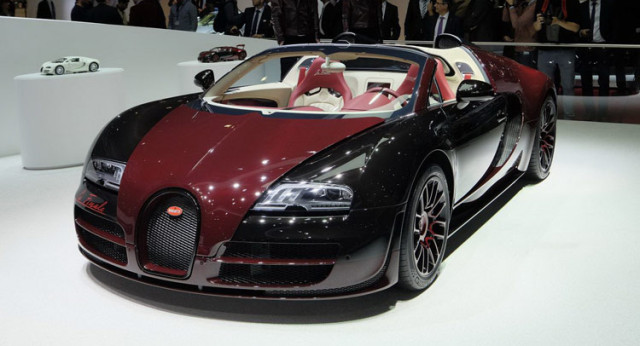 2018 Bugatti Veyron photo - 1