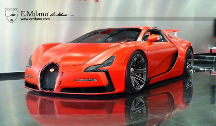 2018 Bugatti Veyron photo - 3