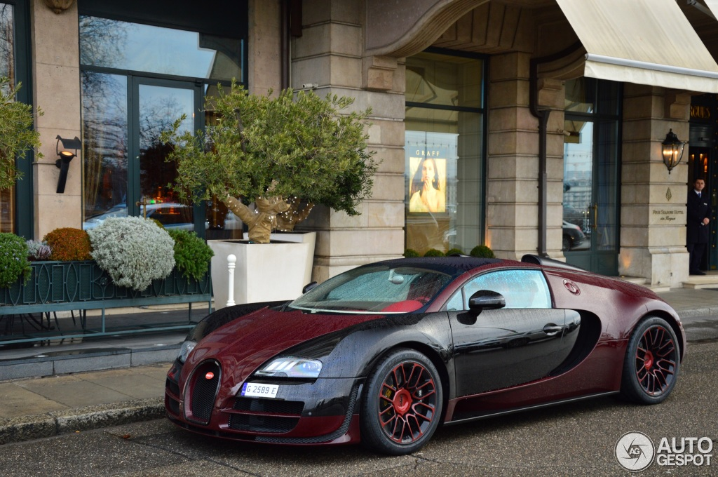 2018 Bugatti Veyron Grand Sport Vitesse La Finale photo - 1