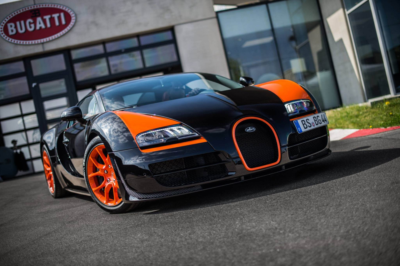 2018 Bugatti Veyron Grand Sport Vitesse WRC photo - 3