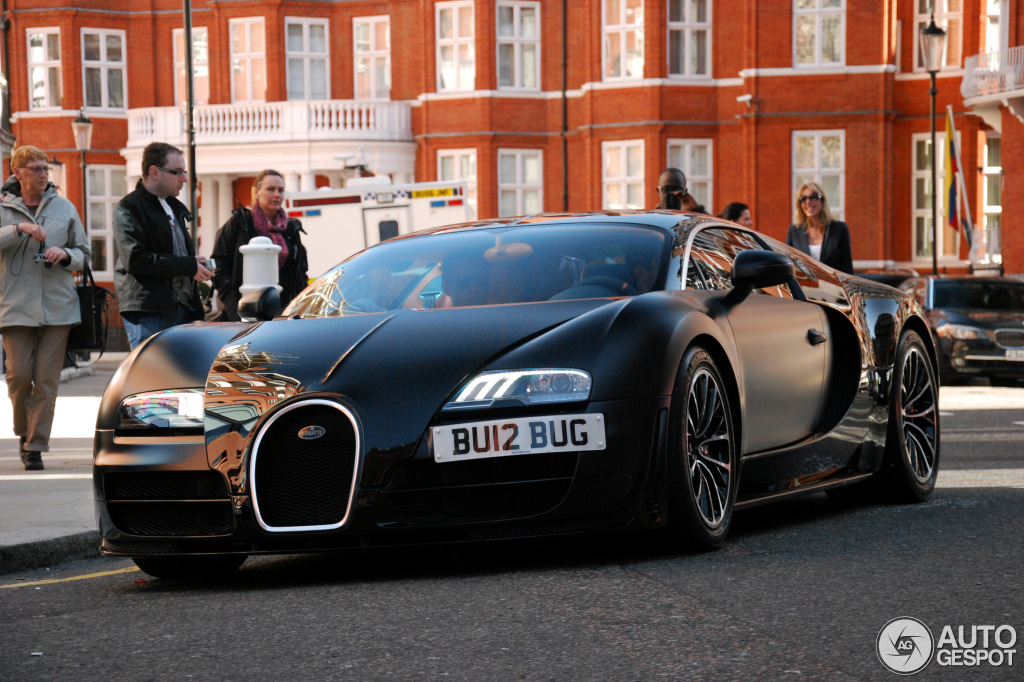 2018 Bugatti Veyron Sang Noir photo - 5