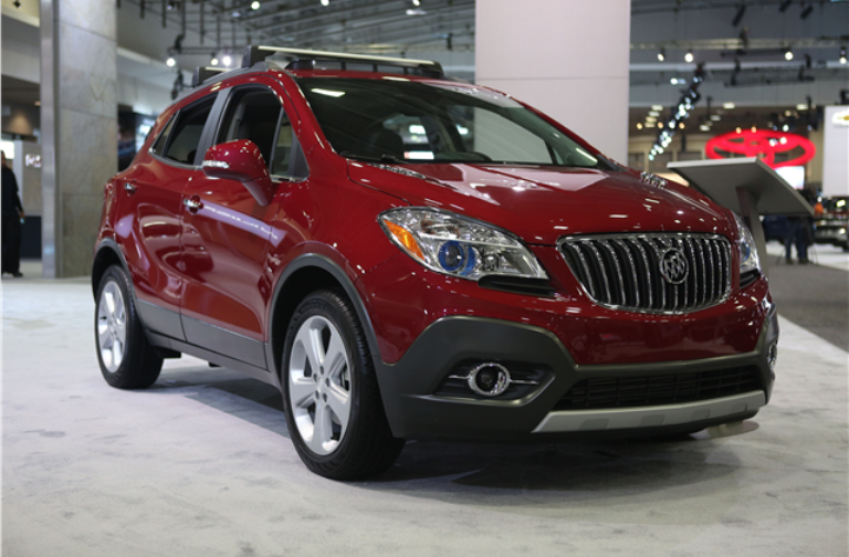 2017 Buick Encore Red 200 Interior And Exterior Images