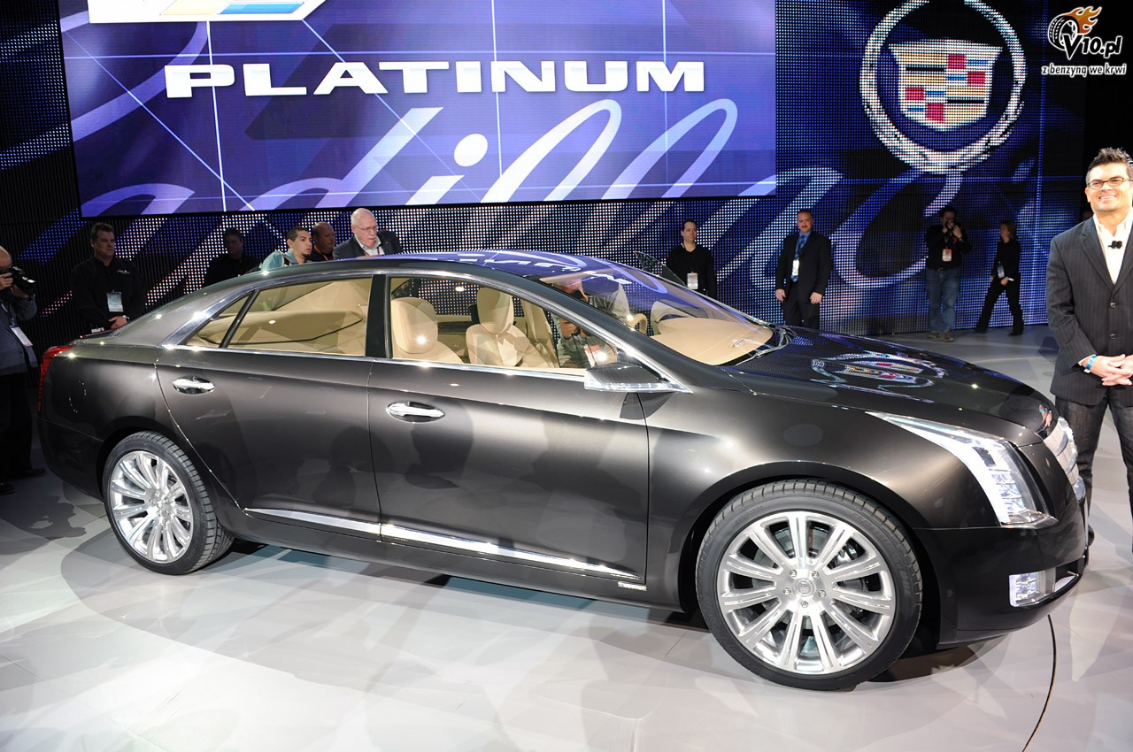 2018 Cadillac Xts Platinum Concept Car Photos Catalog 2019