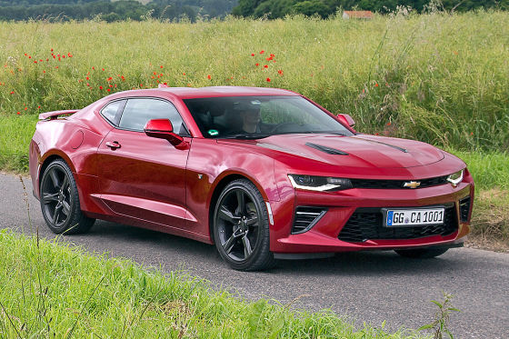 2018 Chevrolet Camaro EU Version photo - 5
