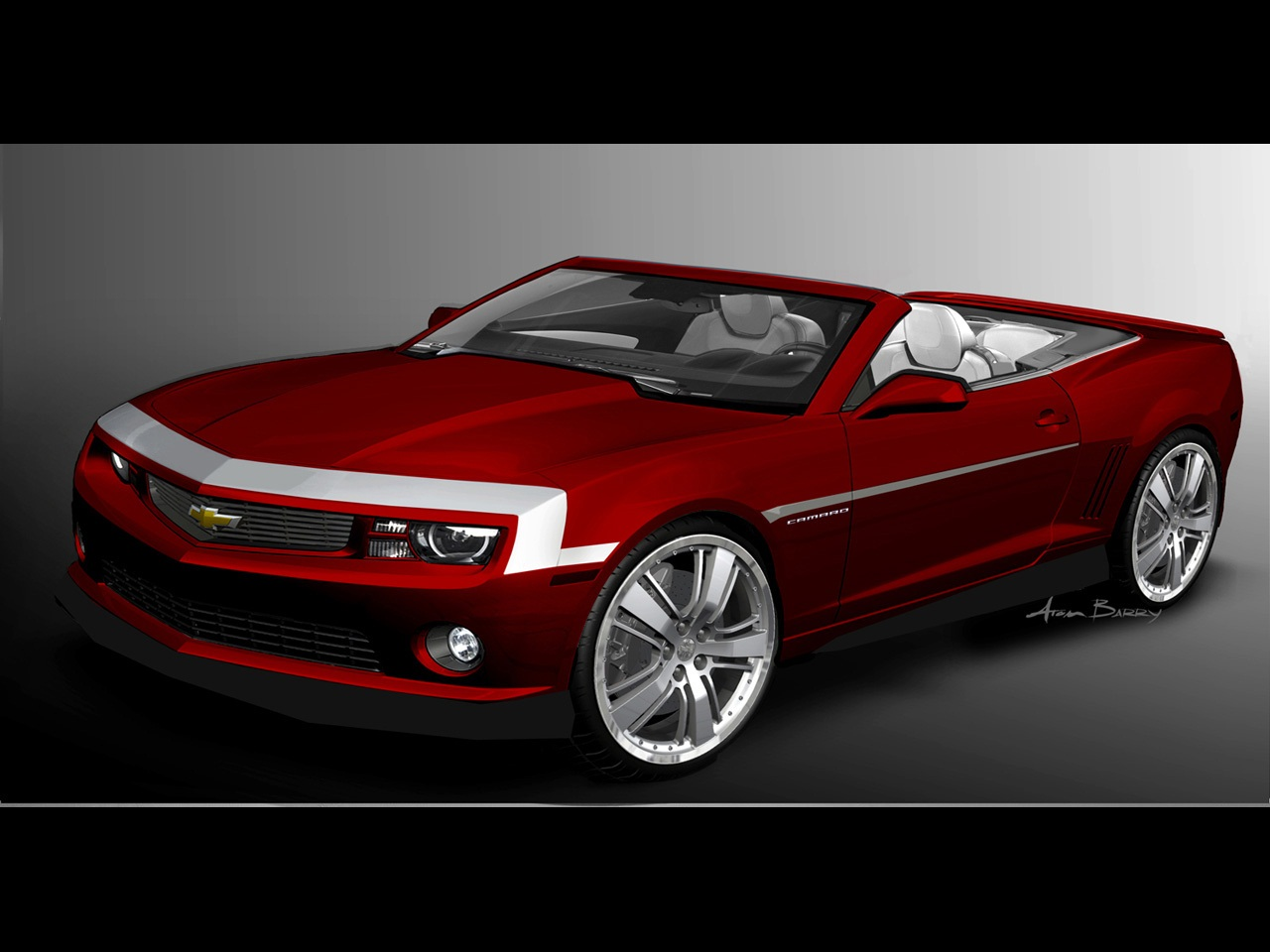 2018 Chevrolet Camaro Red Flash Concept photo - 5