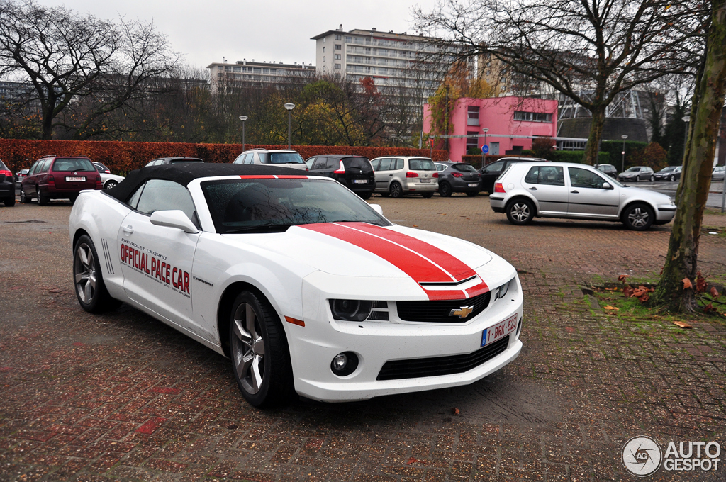 2018 Chevrolet Camaro SS Indy 500 Pace Car photo - 4